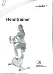 Biete Heimtrainer wie neu 2