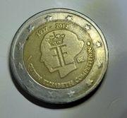 2 Euro Münze Queen Elisabeth