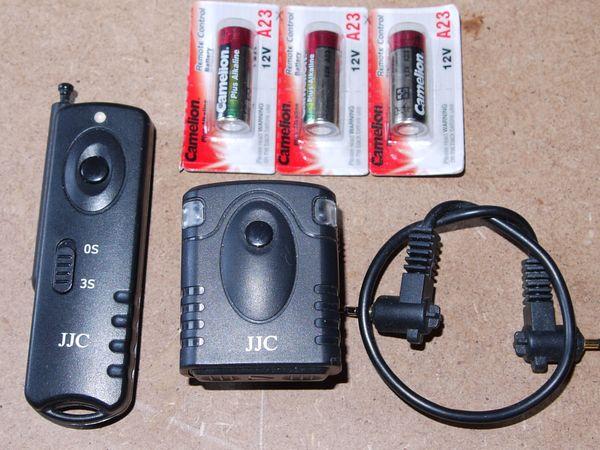 Funk Fernauslöser für DSLR Kamera