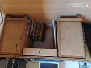 Schreibtisch Massivholz zu verschenken