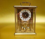 Große Uhr Jahresuhr Haller Messing