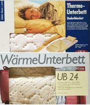 2 Wärme-Unterbetten Heizmatten für s