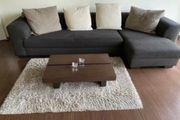 Schöne Braune L Couch