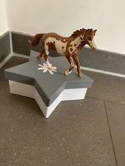 Schleich Pferd 2006 gescheckt Pinto
