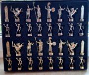 Neu Schachfiguren - griechische Mythologie