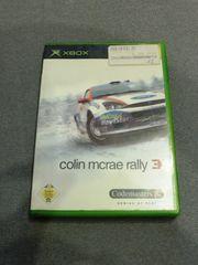 XBOX colin mcrae rally 3