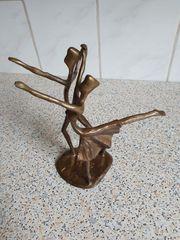 Tänzer Paar Skulptur Bronze Metall