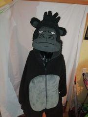 warmes Gorilla Kostüm größe XS
