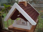 Vogelhaus Vogelfutterhaus mit Futtewrspender