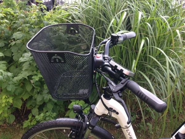 Fahrradlenkerkorb mit Adapter