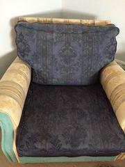 Sofa mit 2 Sesseln zu