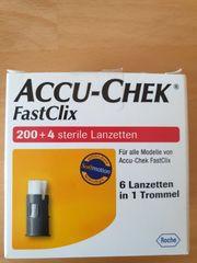 Accu-Chek FastClix 200 4Lanzetten