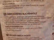 Einstreu für Schrebergarten Buchenspäne