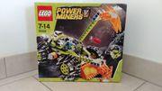 Lego PowerMiners Bergfräser Motorrad 8959