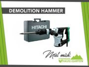 Mieten Leihen Abbruchhammer Meißelhammer Hitachi