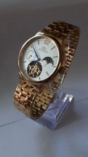 Automatik-Uhr Herrenuhr Armbanduhr 585er Gold