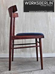 Set restaurierte vintage Esszimmerstühle 70er -