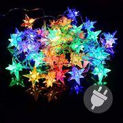 LED Lichterkette 40 Polarsterne Lampen