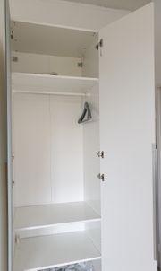 Pax Kleiderschrank weiß 75x58x236 cm