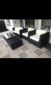 Lounge Möbel Garten Terrasse rattan