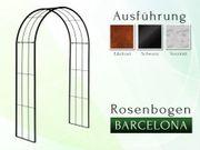 Eisen- Metall- Rosenbogen Barcelona Breite
