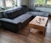 Polsterecke LForm Sofa Couch grau