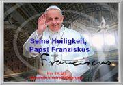 PAPST FRANZISKUS Vatikan-6-Euro-Souvenir Geschenk Deko