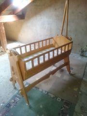Wiege Stubenwagen Babybett Landhaus Vintage