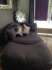 Couch Leder Stoff