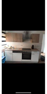 neuwertige Küchenzeile mit allen Elektrogeräte
