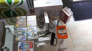 Wii-Konsole 2 Controller 6 Spiele