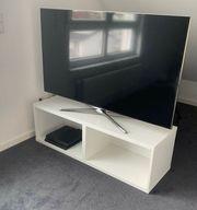 TV Bank mit zwei Fächern