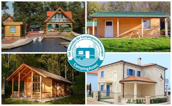 Schutz für Wochenendhaus Ferienhaus Gartenhaus