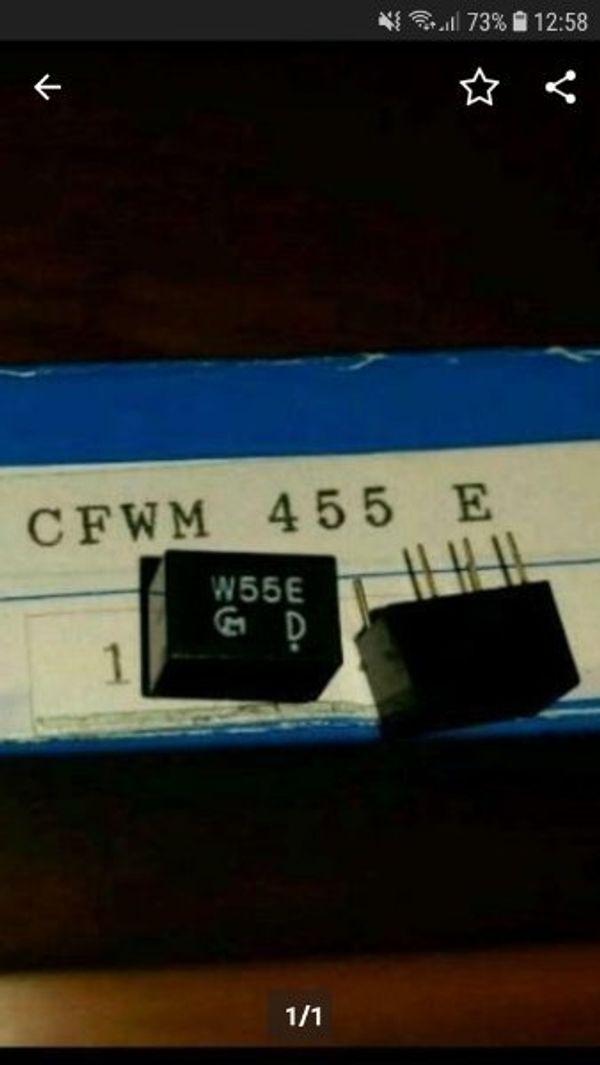 2 stück Keramikfilter CFWM 455E