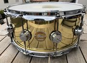 DW Collectors Brass Snare 14x6