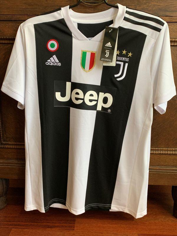 Juventus Turin Ronaldo handsigniertes Trikot Größe L