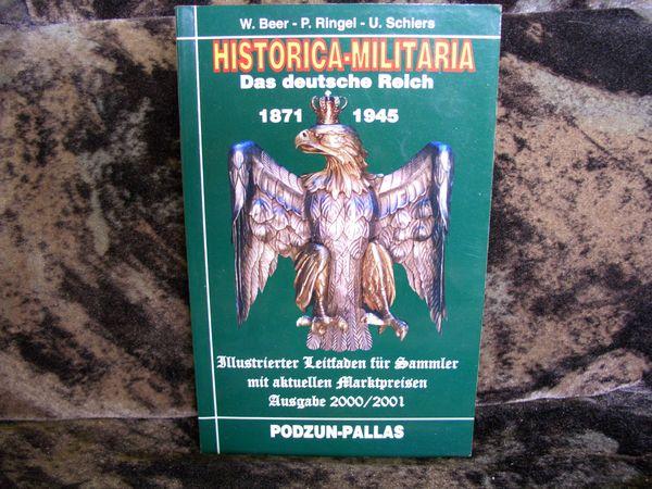 HISTORICA - MILITARIA Das deutsche Reich