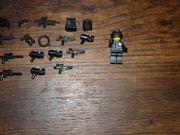 LEGO Agent mit Waffensamlung
