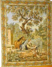 Gobelin Tapisserie Bildteppich Wandteppich alt