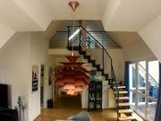 lichtdurchflutete möblierte Dachterrassenwohnung mit Galerie