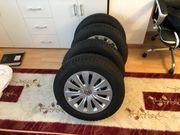 Dunlop Winterreifen mit Stahlfelgen Volkswagen
