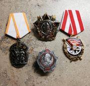 Abzeichen Militaria Orden russisch