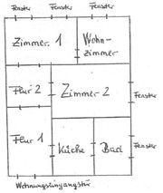3-Zimmer-Wohnung in Hannover Linden-Mitte frei