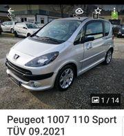 Peugeot 1007 Sport mit Hagelschaden