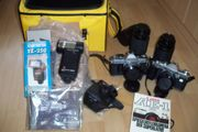 2 Analog Canon Kameras AE-1