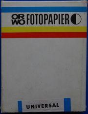 ORWO Fotopapier BH 1 100