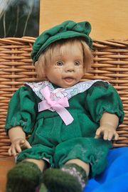 Puppe Heinerle 37 cm groß
