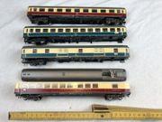 Paket 4x Fleischmann verschiedene Wagons