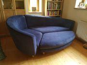 Sofa insel blau