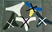 biete getragene tangas an